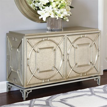 Global Views Arabesque Silver Two Door Chest GV992191