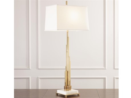 Global Views Brass 1-light Buffet Lamp