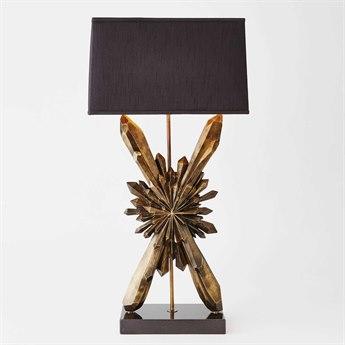 Global Views Antique Brass Buffet Lamp