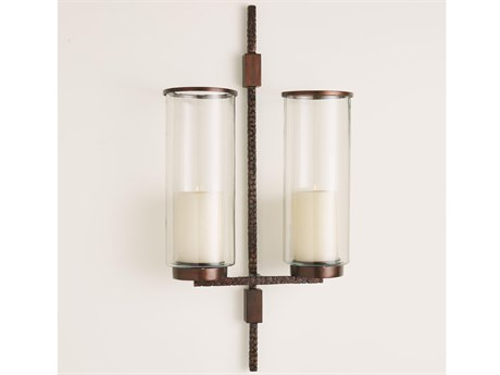 Global Views Anitque Brass Candle Holder