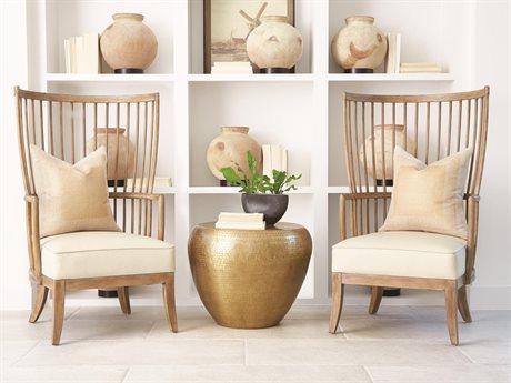Global Views Chair and Ottoman Set GV720194SET
