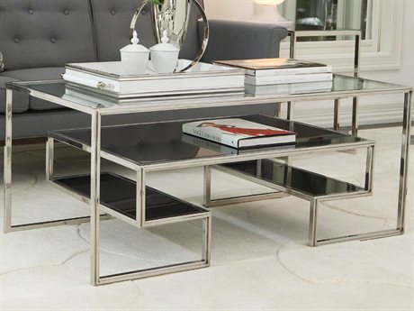 Global Views 48'' Wide Rectangular Coffee Table GV992483