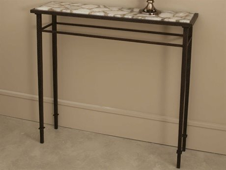 Global Views Bronze 39'' Wide Rectangular Console Table