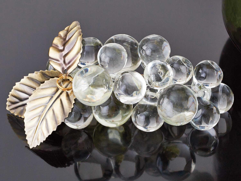 Global Views Grape Cluster Decorative Accent