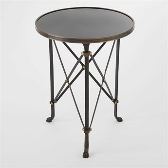 Global Views 20'' Wide Round End Table GV880828