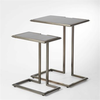 Global Views Bronze 19'' Wide Rectangular End Table