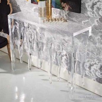 Global Views Ice 48'' x 14'' Rectangular Console Table GVJB330019