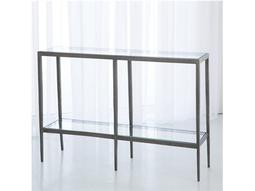 Laforge Iron & Brass 46'' x 12'' Console Table