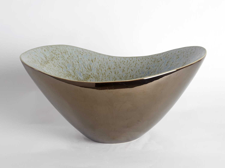Global Views Marta Blue Decorative Bowl