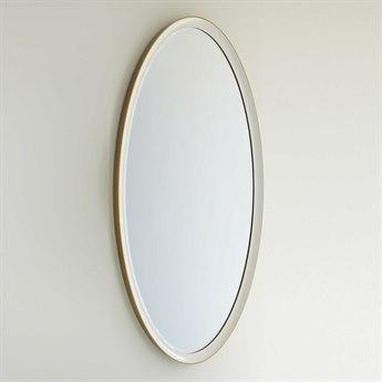 Global Views Orbis 35.5'' x 63'' Large Oval Wall Mirror