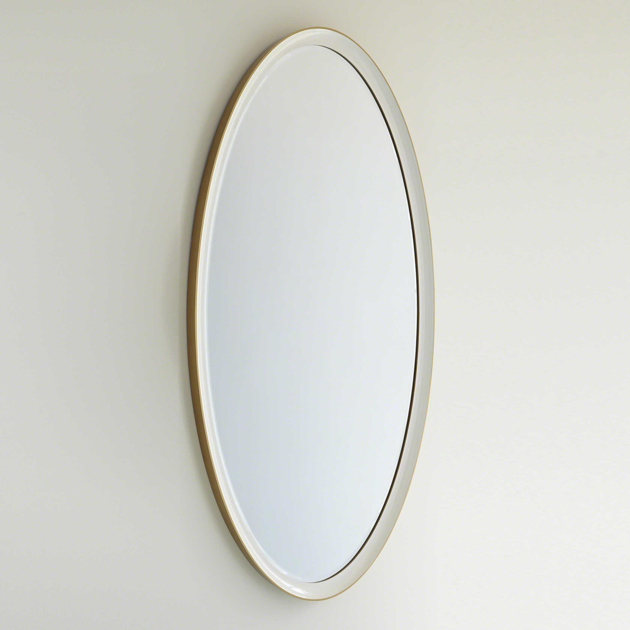 Global Views Orbis 20.20'' x 20'' Large Oval Wall Mirror