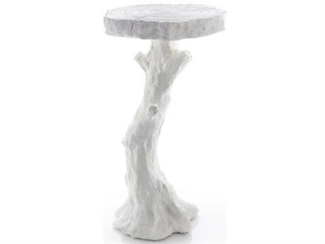 Global Views 15'' Wide Round Pedestal Table