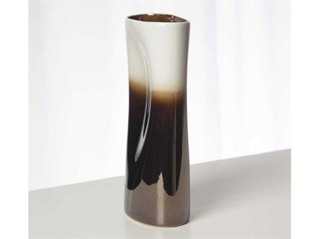 Global Views Pinch Bronze Medium Vase