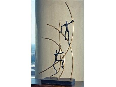 Global Views Up Swing Sculpture