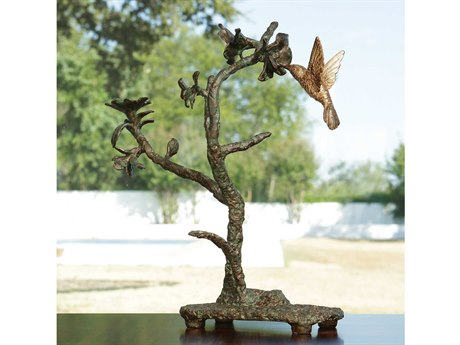 Global Views Hummingbird Verdi Sculpture