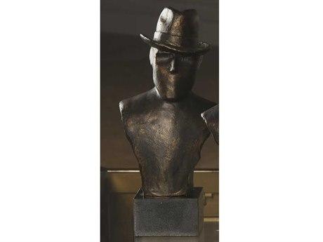 Global Views Businessman Hat Sculpture
