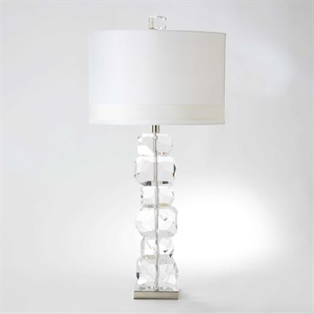 Global Views Stacked Gemstone Tall Crystal Buffet Lamp GV882165