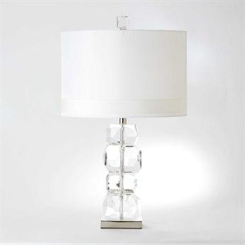 Global Views Stacked Gemstone Short Crystal Buffet Lamp