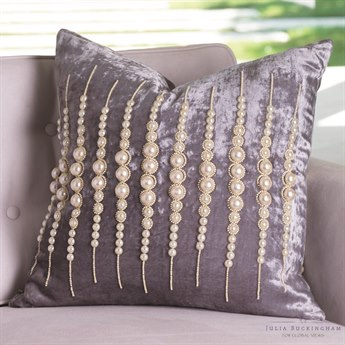 Global Views Strands of Pearls Pillow GVJB990046