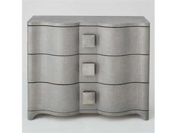Grey Toile Linen Chest