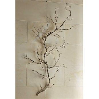 Global Views Nickel Twig Wall Art
