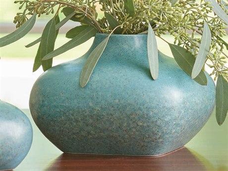 Global Views Modernist Azure Tall Vase