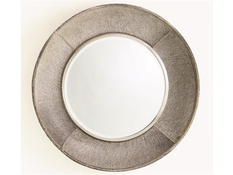 Global Views Antique Nickel / Brushed Wall Mirror