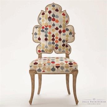 Global Views Wiggle Dining Side Chair