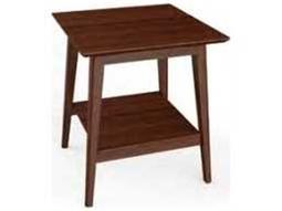 Antares Exotic Caramelized 20'' Square End Table