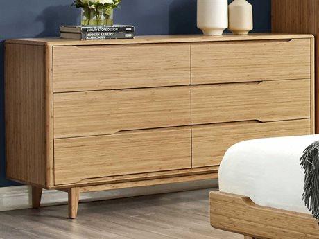 Greenington Currant Six Drawer Caramelized Dresser