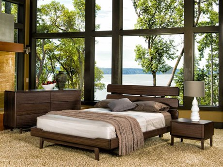 Greenington Currant Black Walnut Bedroom Set