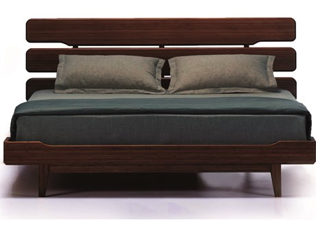 Greenington Currant Queen Black Walnut Platform Bed