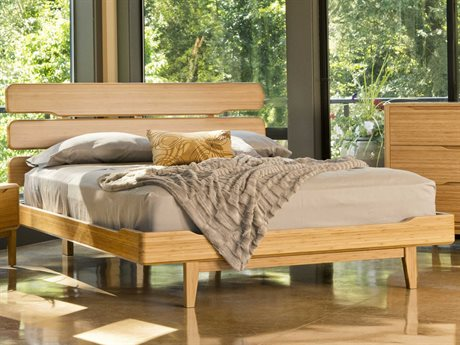 Greenington Currant Queen Caramelized Platform Bed
