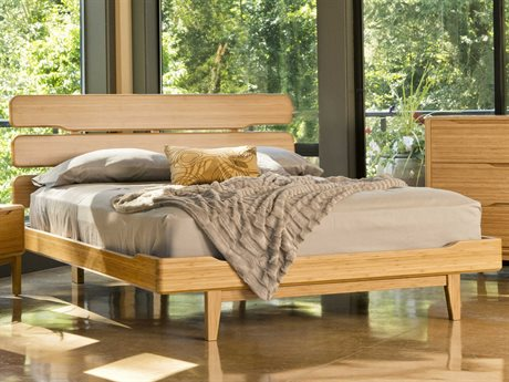 Greenington Currant King Caramelized Platform Bed