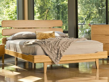 Greenington Currant California King Caramelized Platform Bed