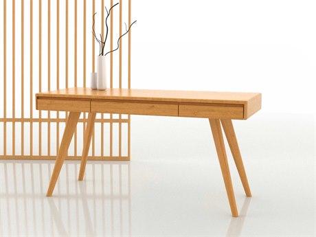 Greenington Currant Caramelized 60'' x 24'' Rectangular Writing Desk