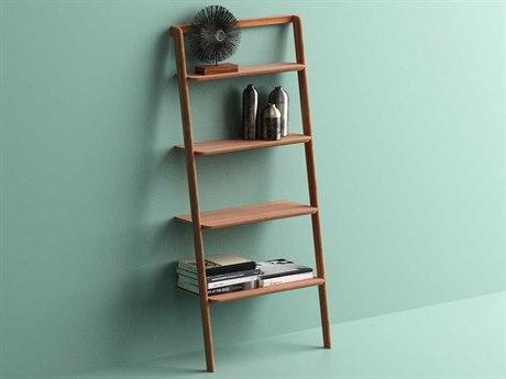 Greenington Currant Caramelized 24L x 70H Leaning Shelf