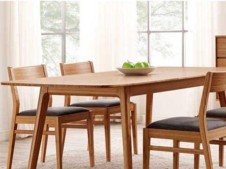 Greenington Mija Laurel Caramelized 36'' x 50'' Rectangular Extension Dining Table