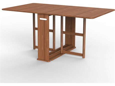 Greenington Linden Modern Caramelized 64'' x 36'' Rectangular Dining Room Table GTGTL001CA