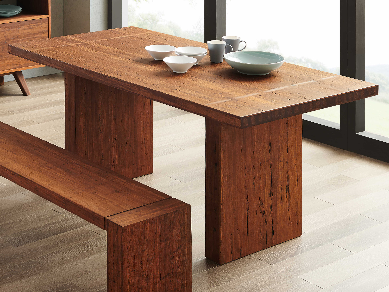 Greenington Sequoia Distressed Exotic 72\'\' Wide Rectangular Dining Table