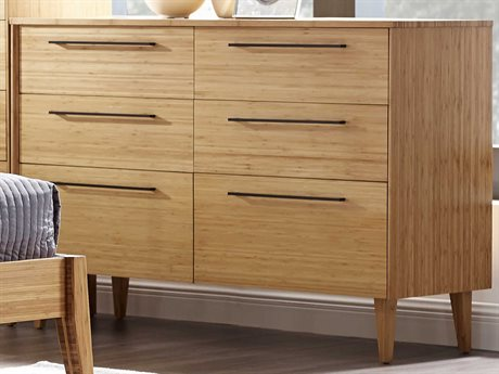 Greenington Sienna Six Drawer Caramelized Dresser