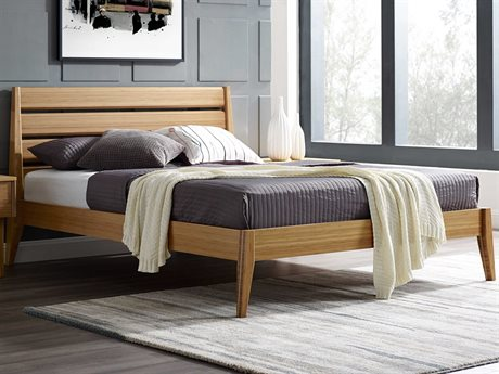 Greenington Sienna King Caramelized Platform Bed