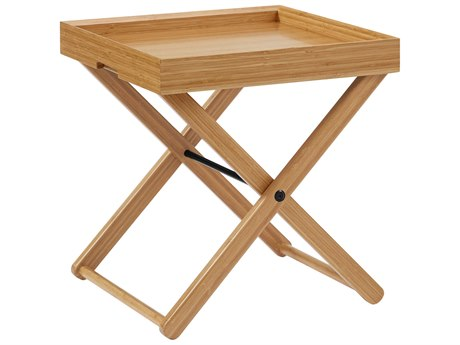 Greenington Teline Caramelized 19'' Wide Square End Table GTGT001CA