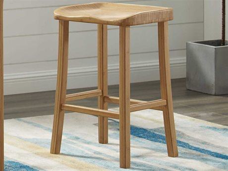 Greenington Tulip Caramelized Bar Height Stool (Set of 2) GTGC0602H