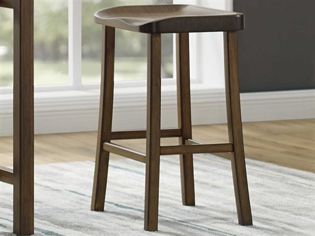 Greenington Tulip Black Walnut Bar Height Stool (Set of 2) GTGC0602HBL