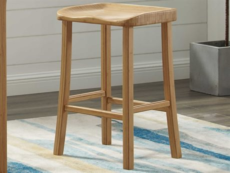 Greenington Tulip Caramelized Counter Height Stool (Set of 2) GTGC0602CS