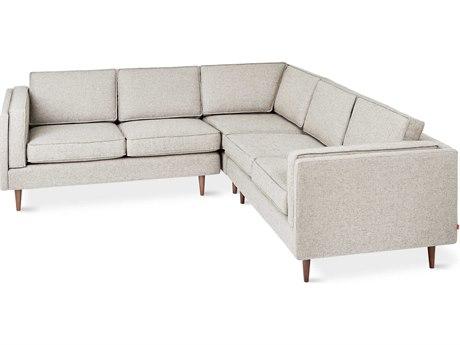 Gus* Modern Adelaide Leaside Driftwood Sectional Sofa GUMECSCADELLEADRI