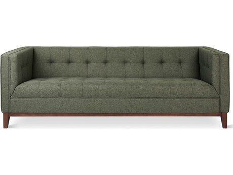 Gus* Modern Atwood Parliament Moss Sofa Couch