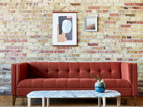 Gus* Modern Atwood Sofa Couch GUMECSFATWOSTOTERWN