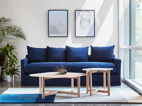 Gus* Modern Carmel Sofa Set GUMECSFCRMEDENINDSET